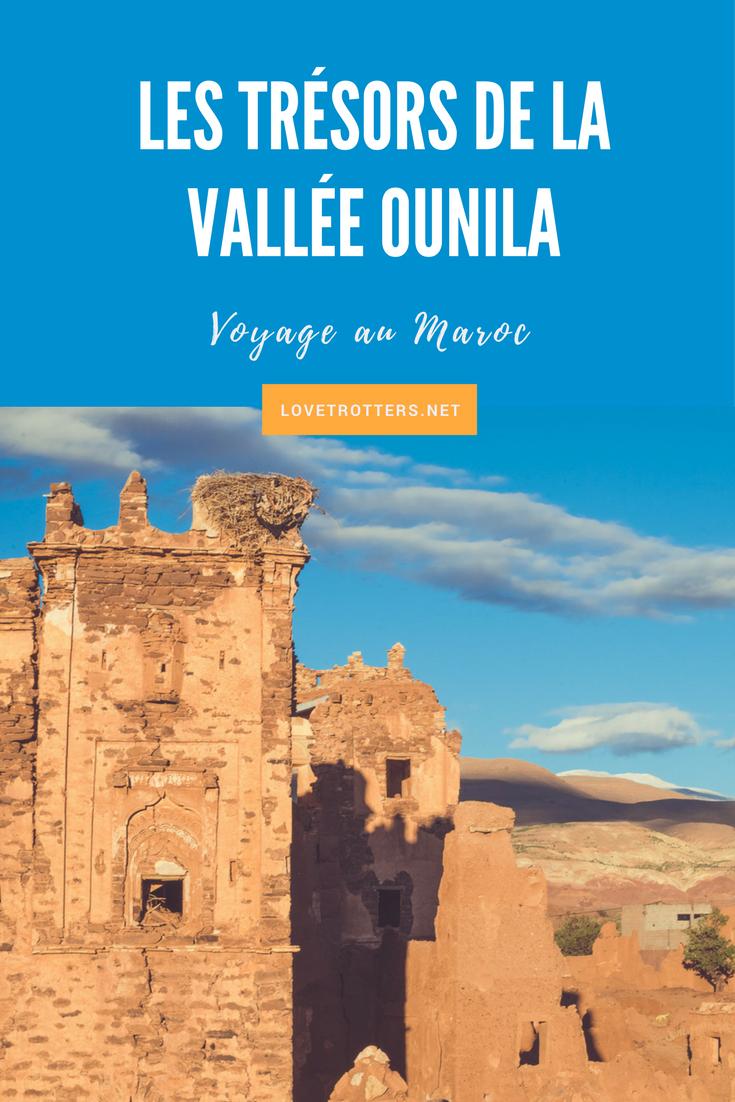 Road trip à la découverte des trésors cachés de la vallée Ounila à entre Marrakech et Ouarzazate