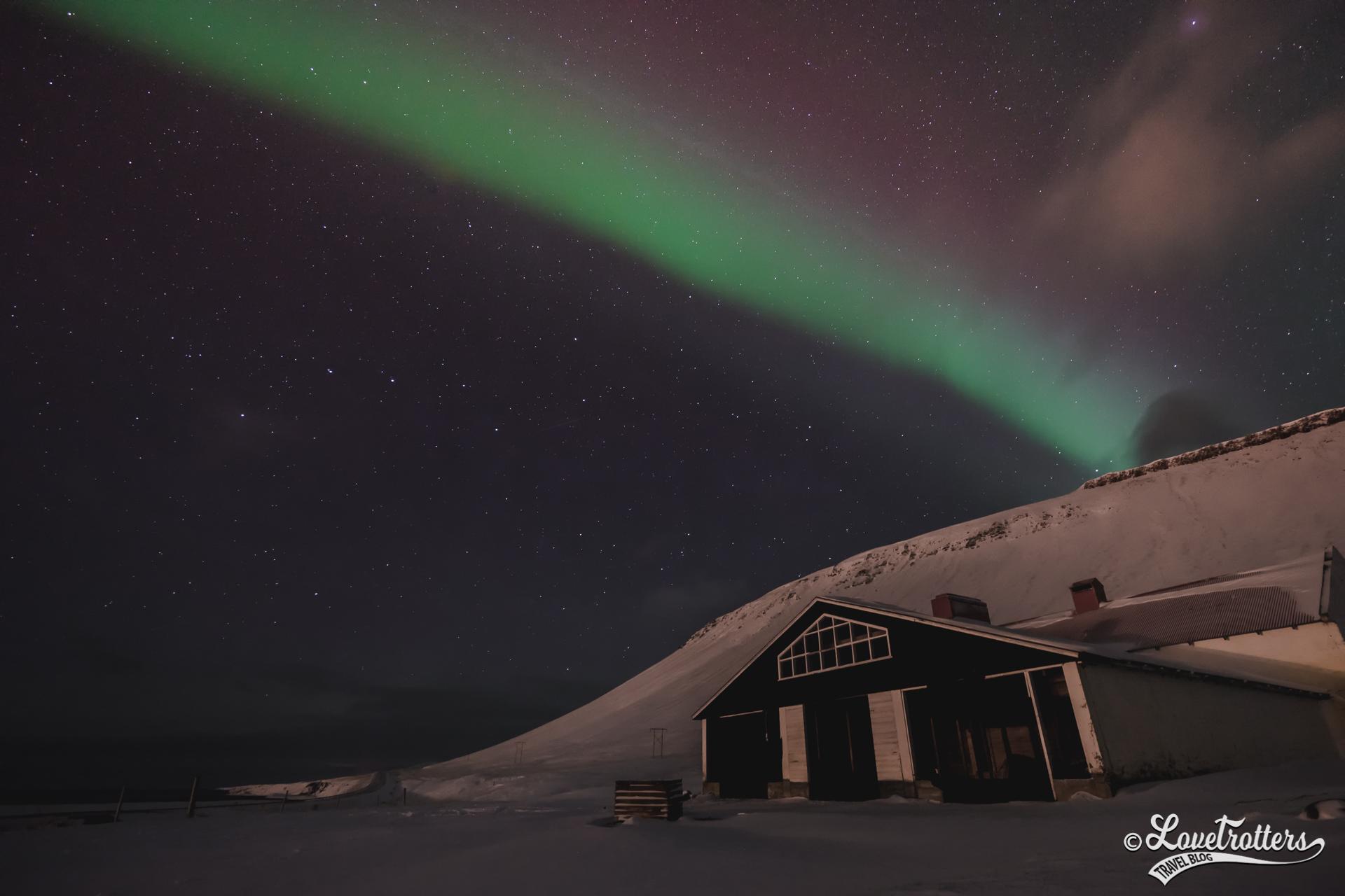 Premières aurores boréales en Islande