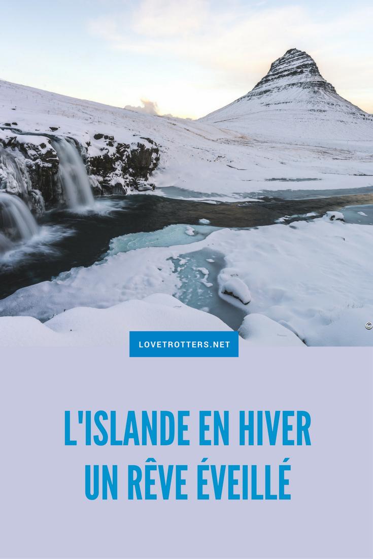 Voyage en Islande l'hiver un rêve éveillé