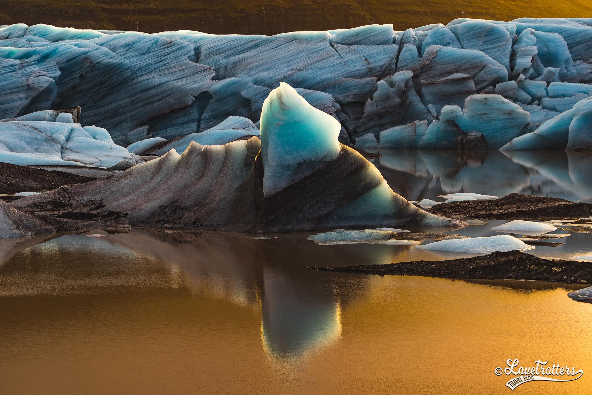 Voyage en Islande Lovetrotters glacier Svinafellsjokull