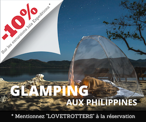 Glamping aux Philippines