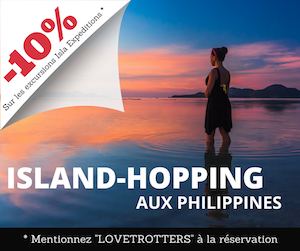 Island hopping aux Philippines