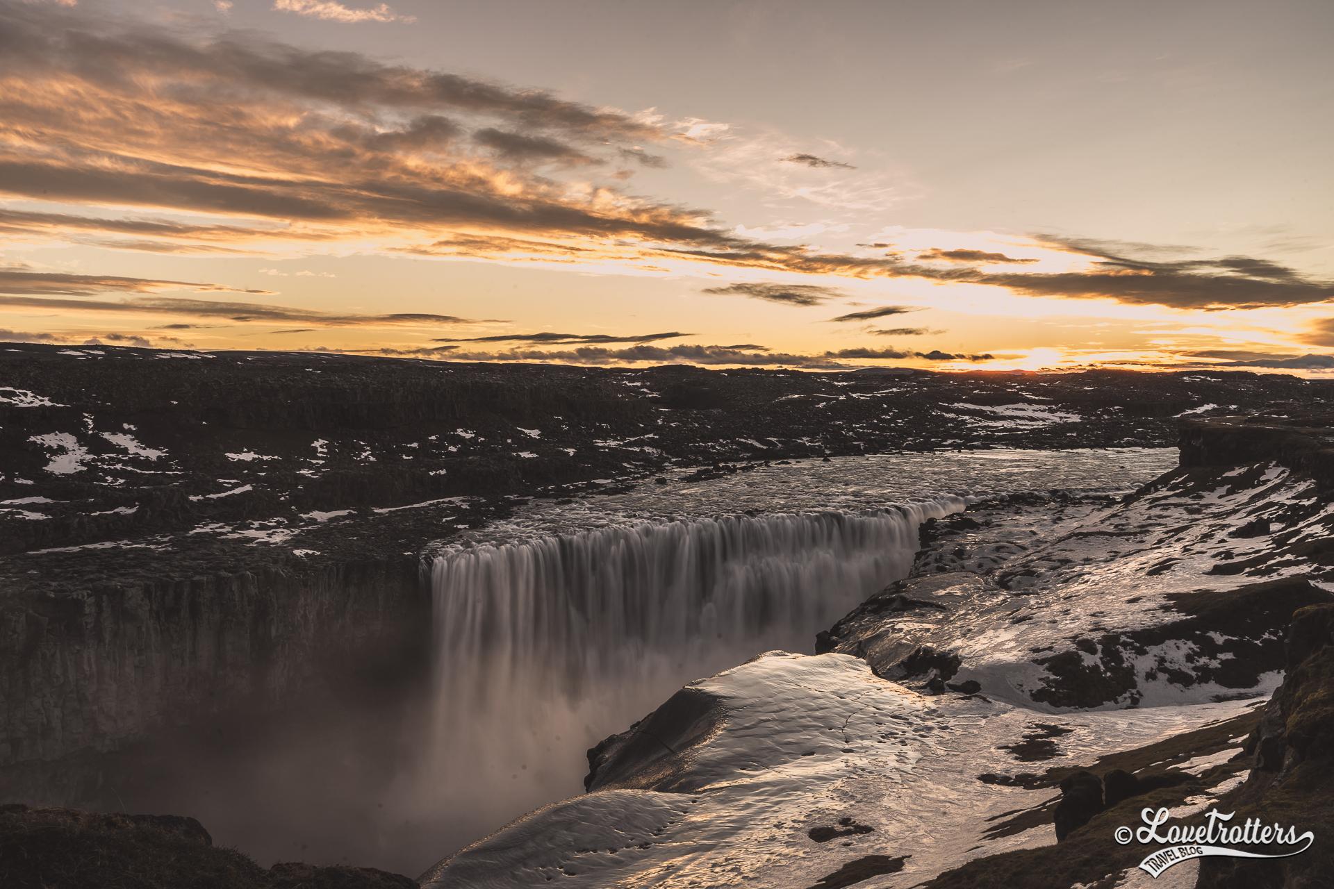 Voyage en Islande en hiver cascade Detifoss