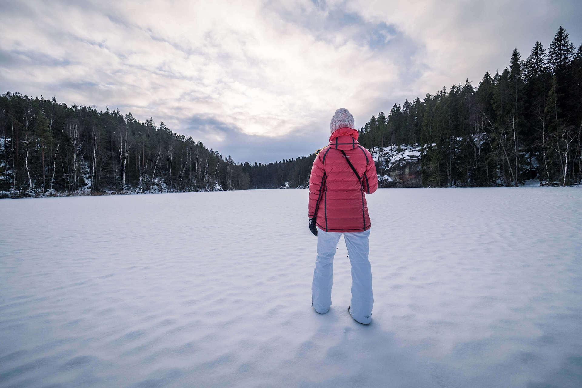 Voyage en amoureux en Finlande l'hiver