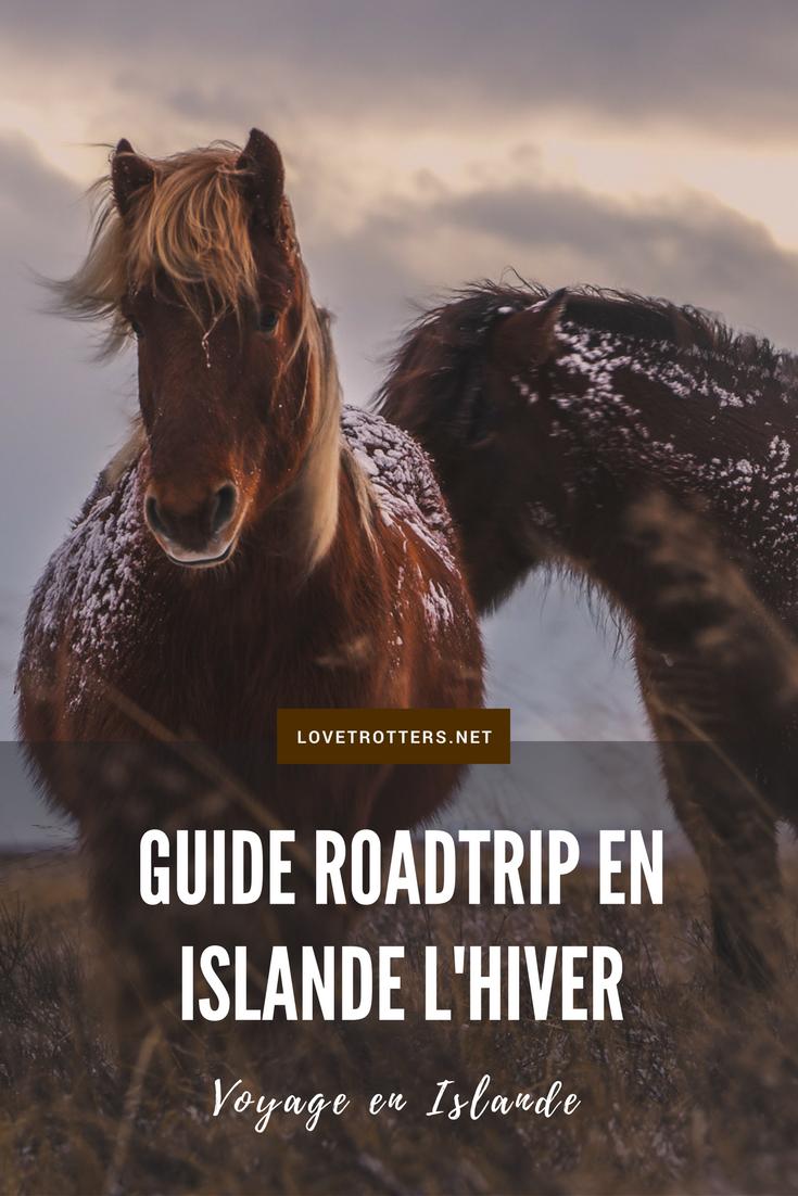 Guide pour réussir son roadtrip en Islande l'hiver