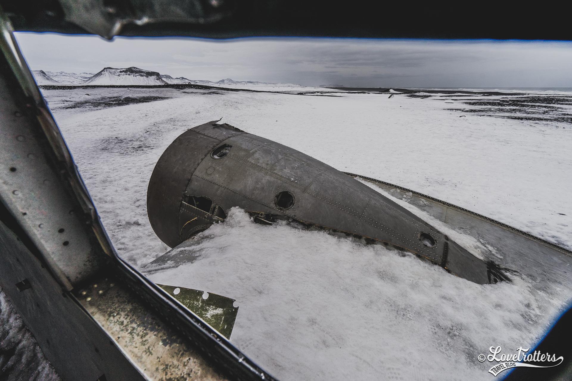 les plus belles plages en Islande : La carcasse d'avion