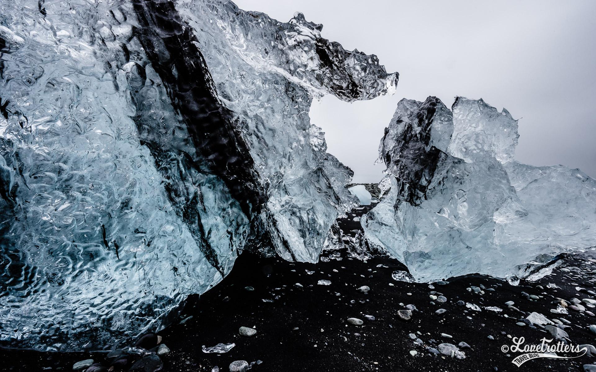 Visite de Jokulsarlon et la plage des diamants en islande