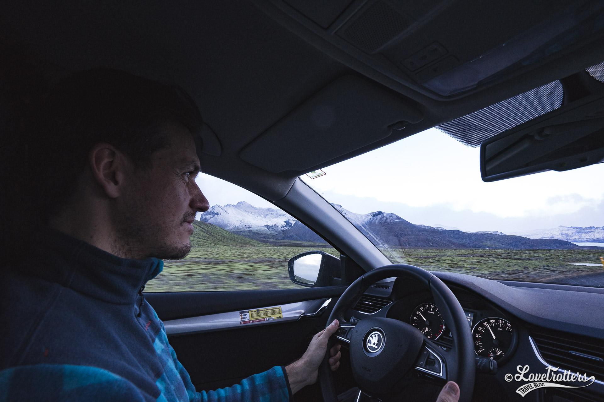 Road trip en Islande l'hiver