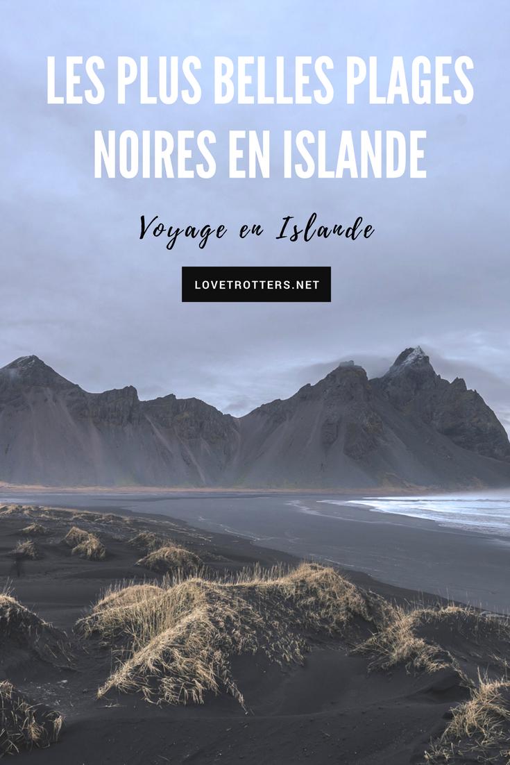 Les plus belles plages en Islande