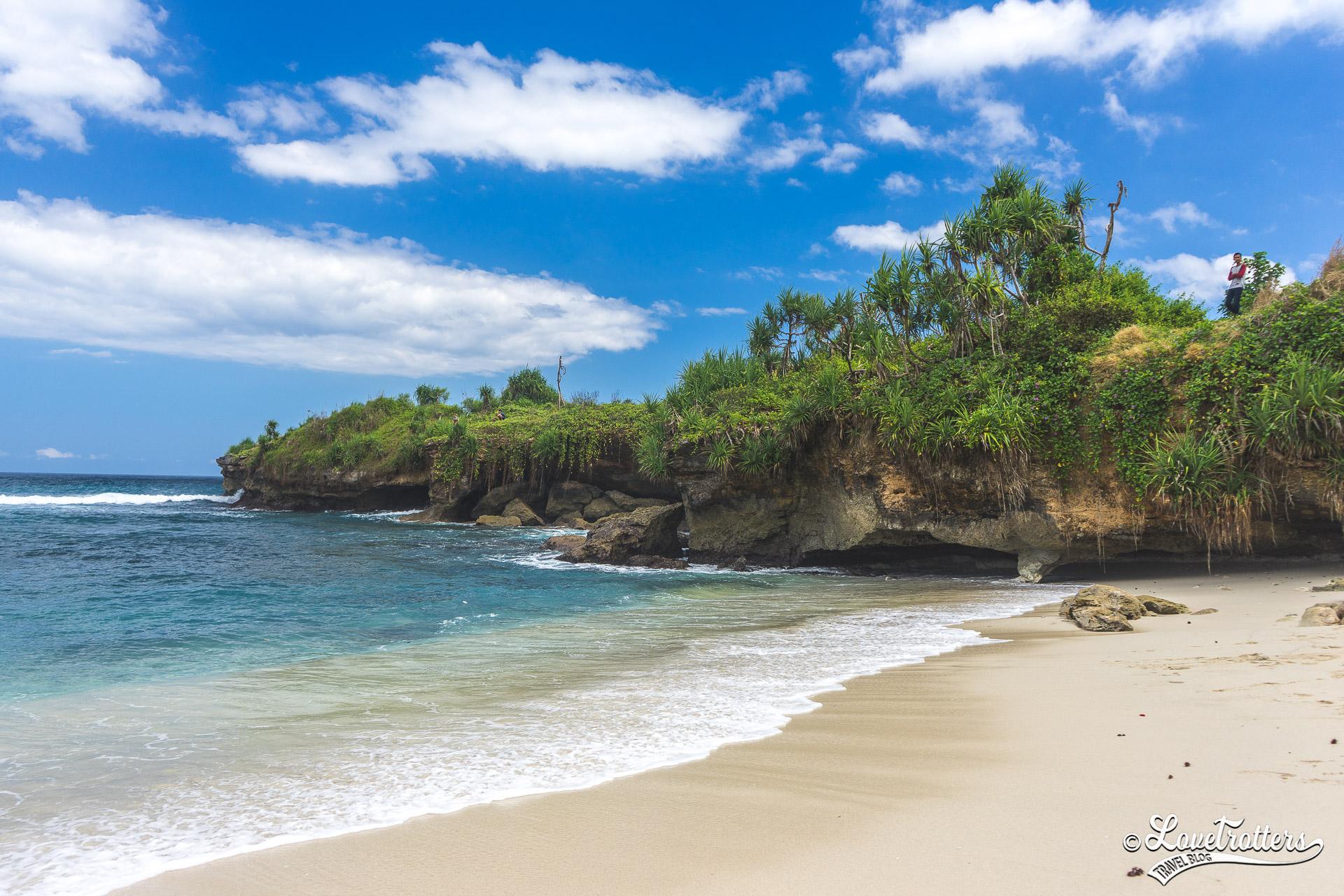 Voyage à Bali hors des sentiers battus - plage blanche de nusa lembongan