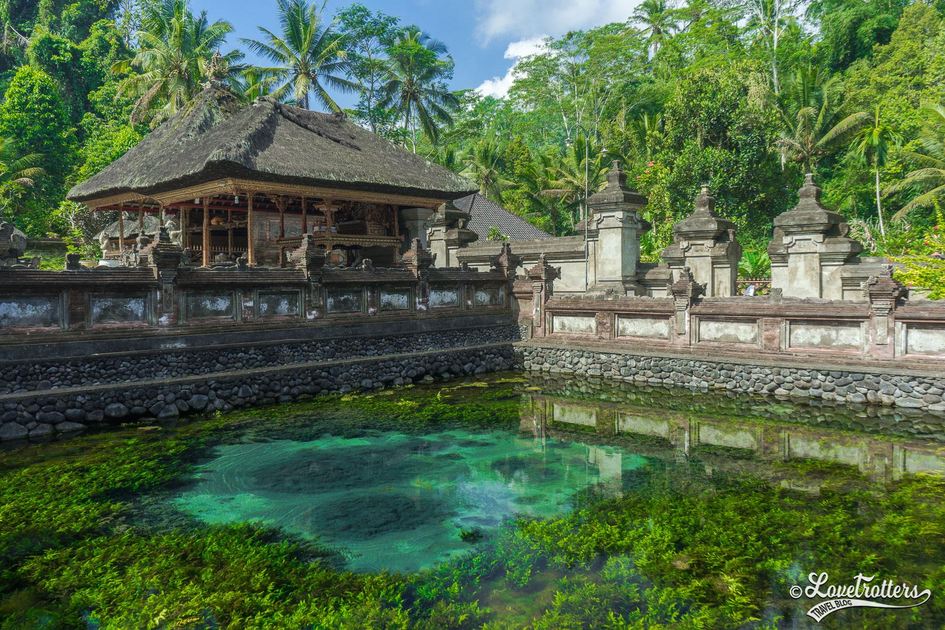 Voyage à Bali - Temple Tirta Empul près d'Ubud